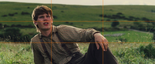 """rule of thirds explained with """"war horse"""""""