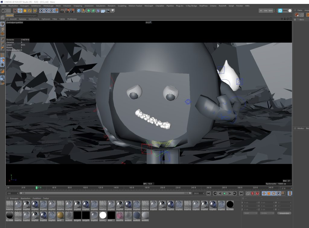 PC for Cinema 4D Viewport Animation Modeling