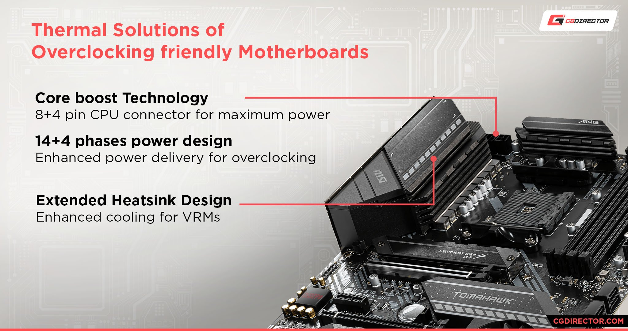 Thermal Solutions of overclocking friendly motherboards
