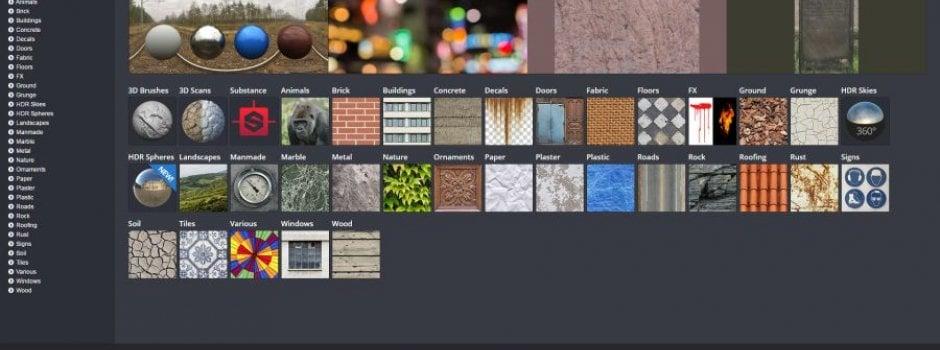 10 best Cinema 4D Textures Resources