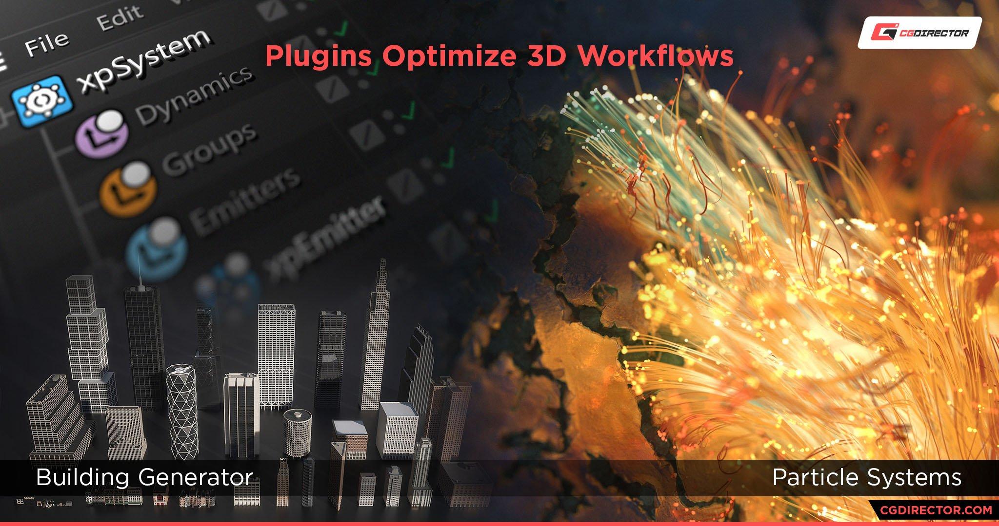 Plugins Speed up 3D workflows