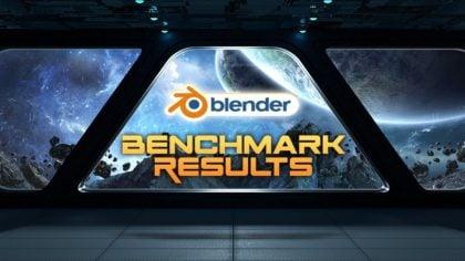 Blender Benchmark Results (Updated Scores)