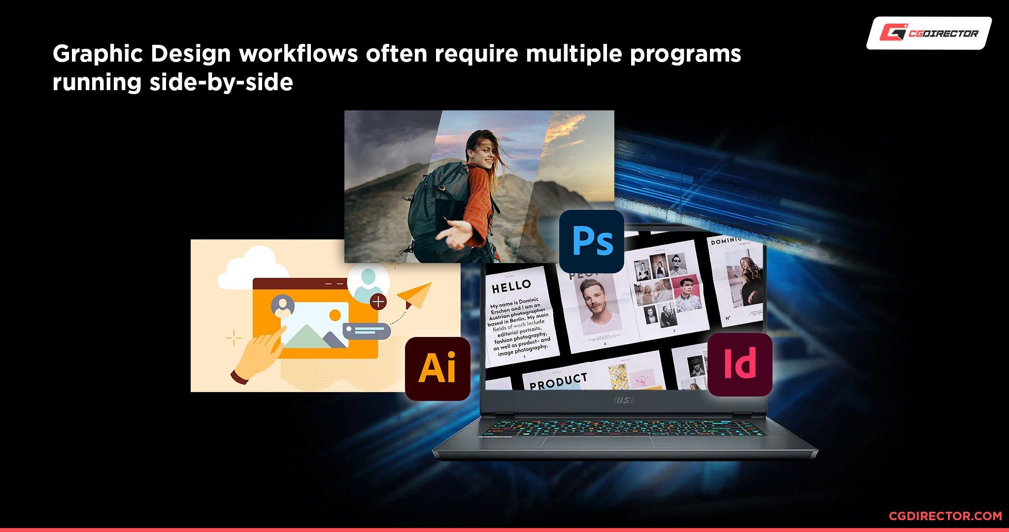 Graphic Design Workflows
