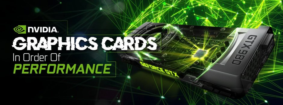 Nvidia Graphics Cards List In Order Of Performance