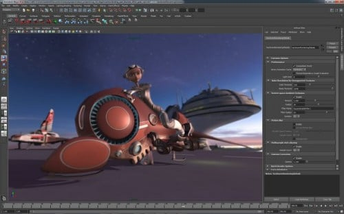 Autodesk Maya Viewport 2.0 Performance Animation PC
