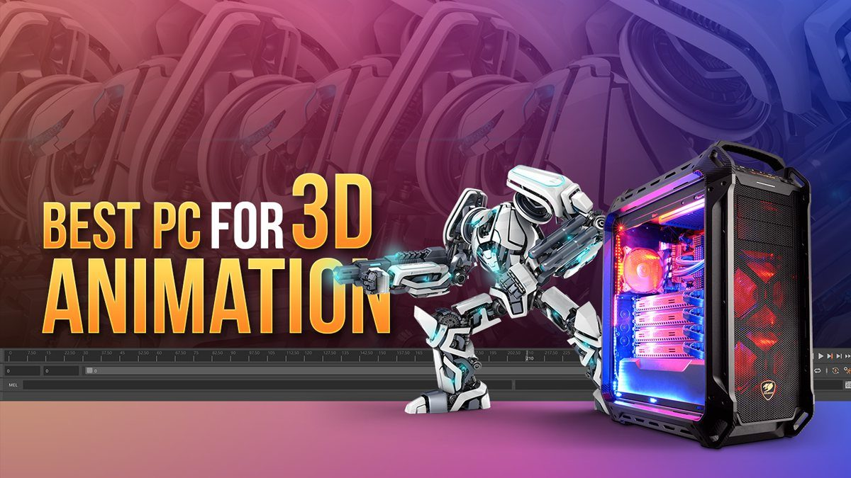 Building the best PC for 3D Animation [2021 Guide]