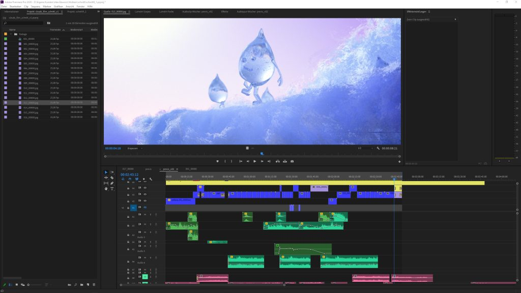 Premiere Pro Video Editing Timeline
