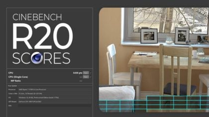 Cinebench R20 Scores (Updated Results)