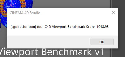 Cinema 4D Viewport Benchmark