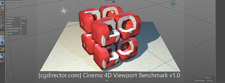 Cinema 4D Viewport Performance Benchmark & Scores (Updated Results