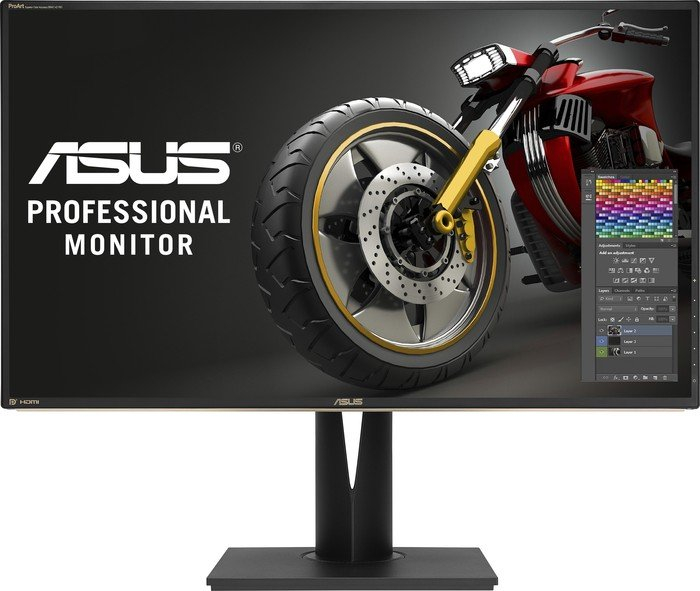 Best Monitor for Graphic Design, Video Editing, 3D Animation: Asus