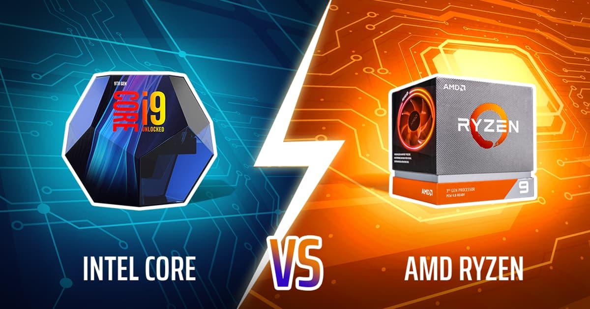 Intel Core Vs Amd Ryzen Cpus Benchmarks Comparison
