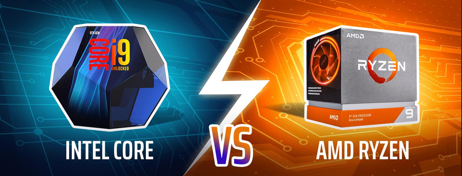 Intel Core vs AMD Ryzen CPUs (Benchmarks & Comparison) - CG