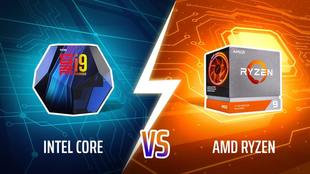 Intel Core vs AMD Ryzen CPUs