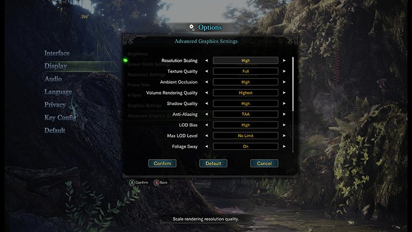 4K Monitor Game Scaling
