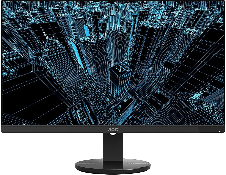 """AOC U2790VQ 27"""" 4K 3840x2160 UHD Frameless Monitor, IPS, 5ms, 1 Billion+ Colors, 108% sRGB, VESA"""