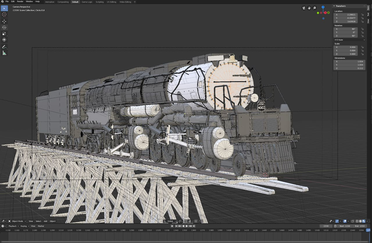 Blender Modeling 3d