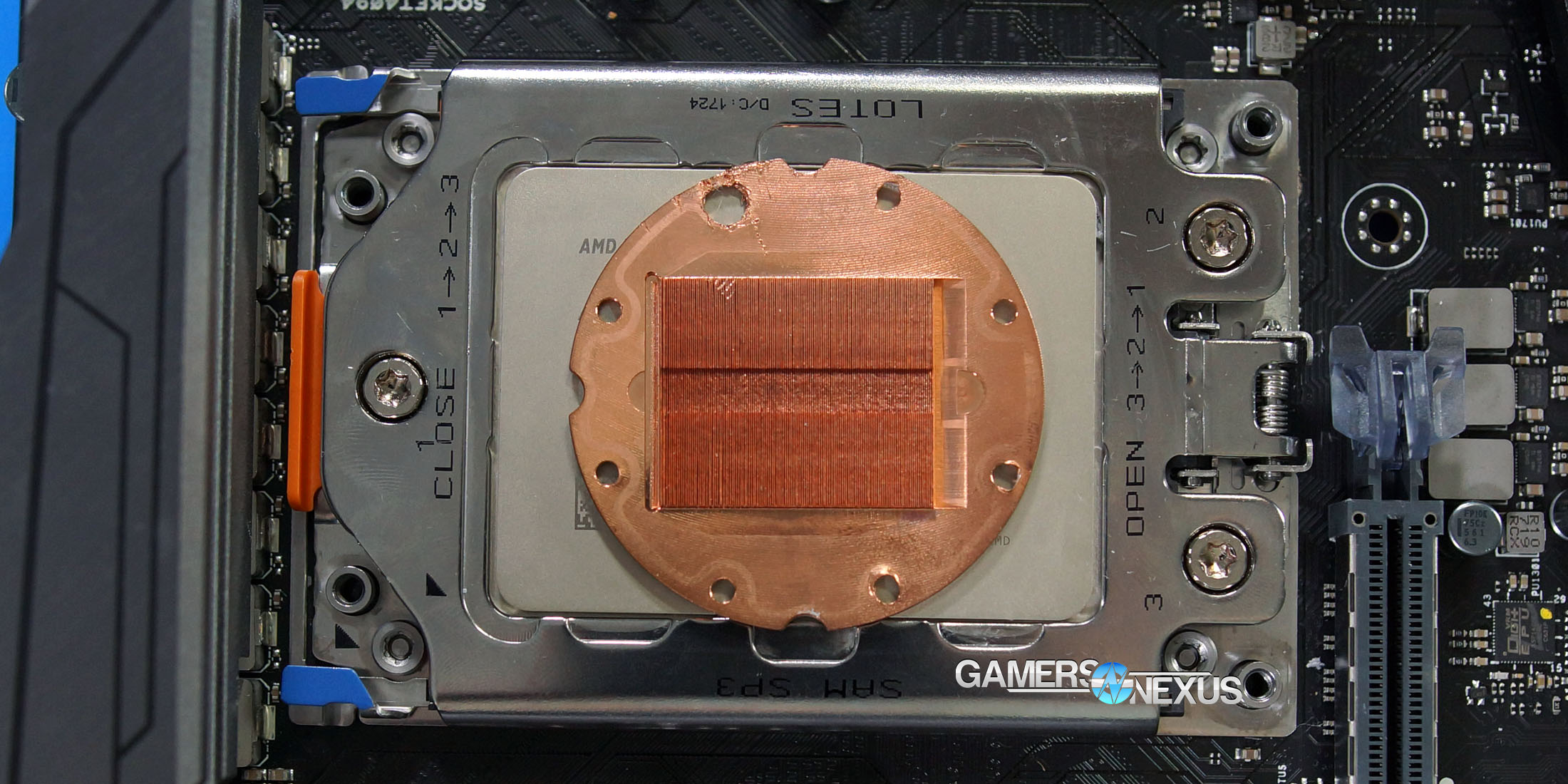 Threadripper Cooler AIO does not Cover IHS