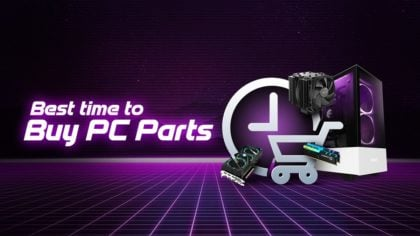 The Best Time to buy Computer Parts