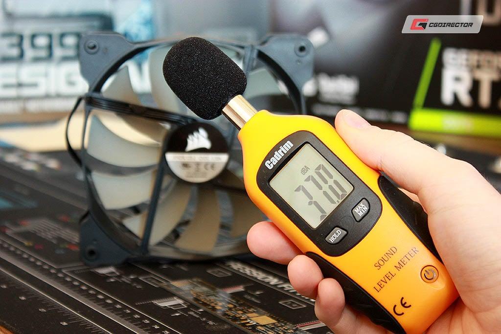 Case Fan Noise Measurement