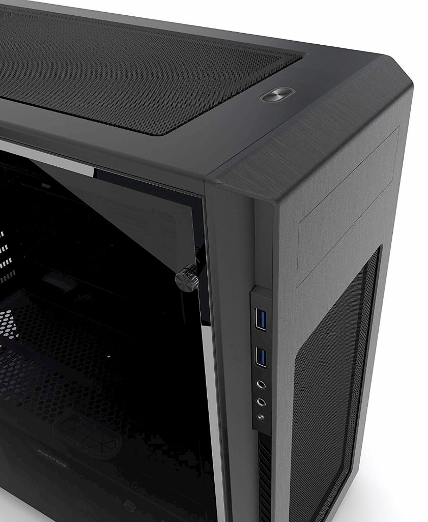 External IO Section of a PC Case
