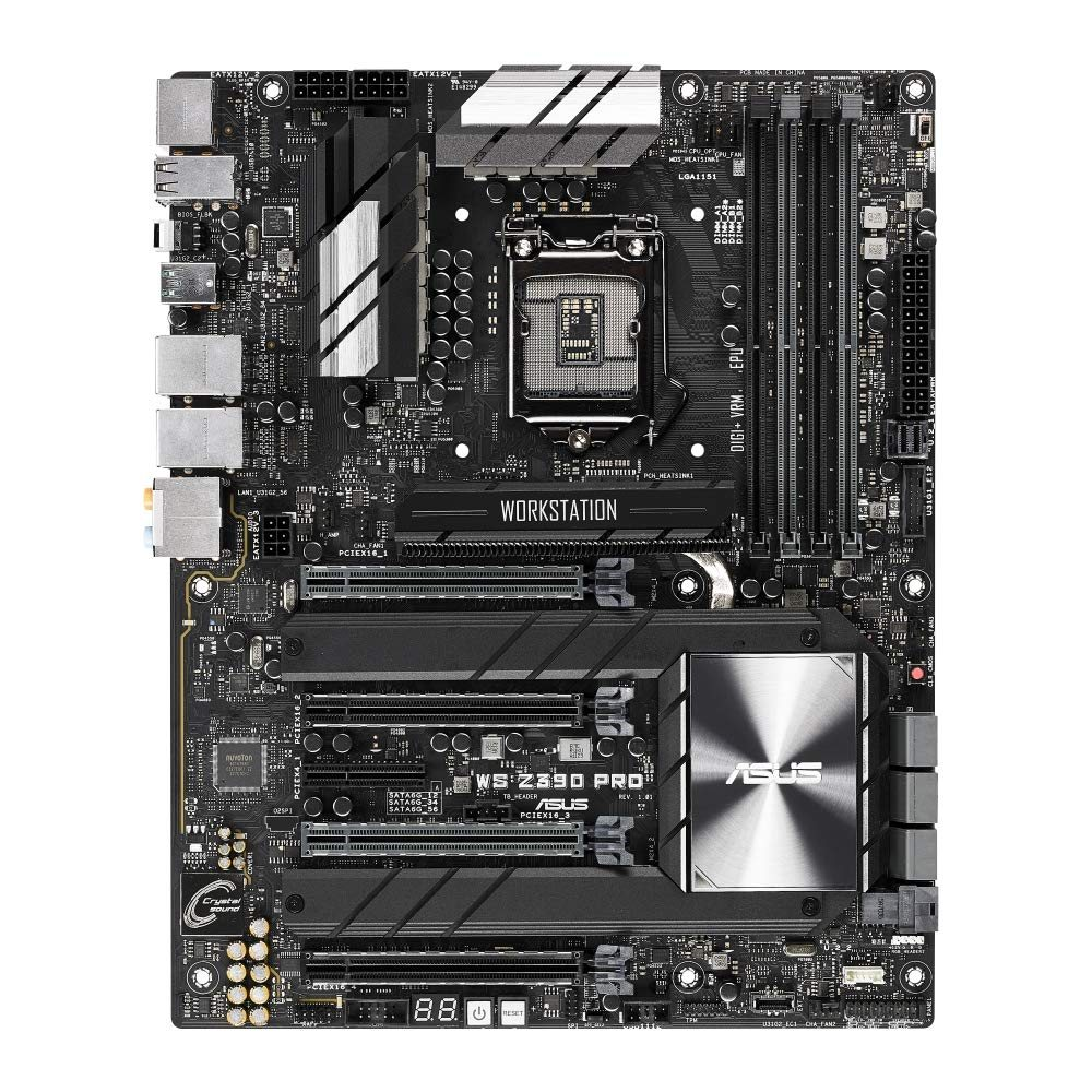 WS Z390 Pro Front