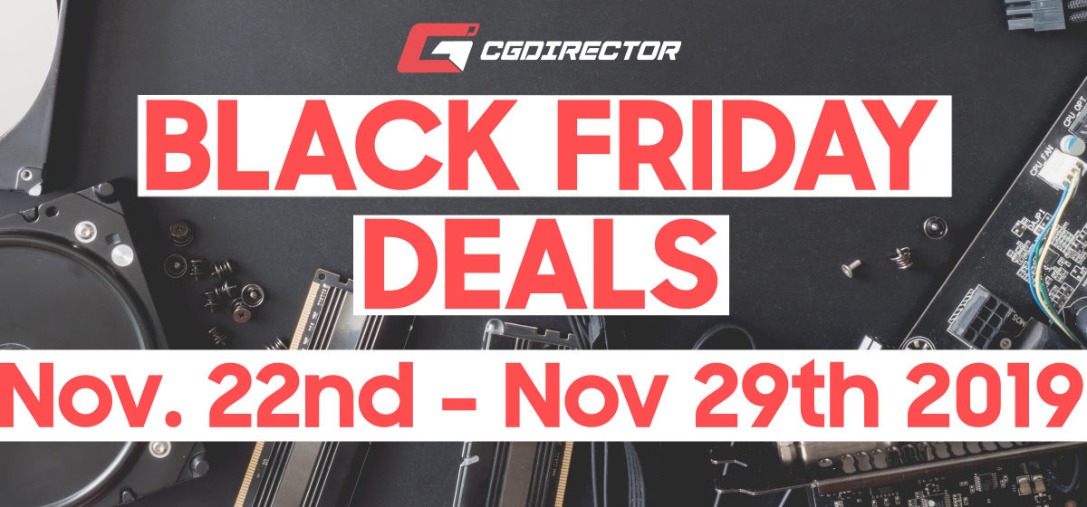 Best 2019 Black Friday / Cyber-Monday Deals for PC-Parts