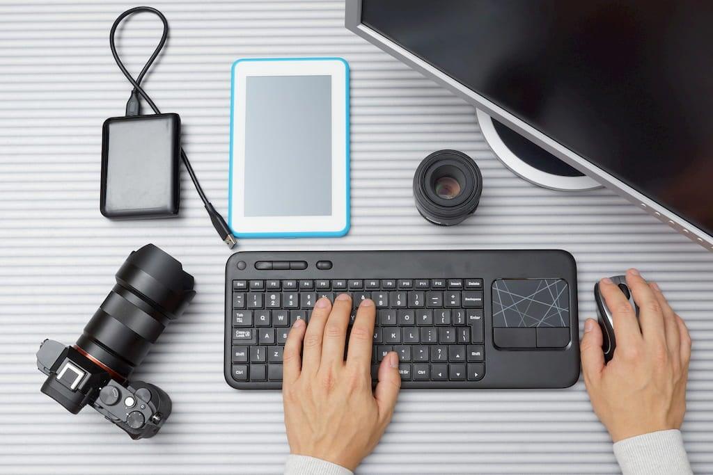 Photo Editing Computer Environment