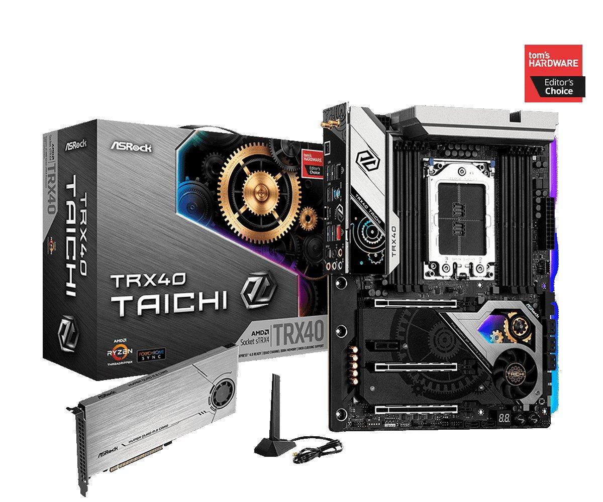 ASRock TRX40 Taichi hero