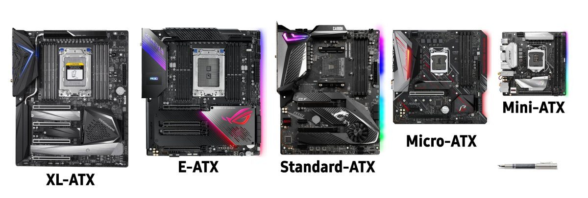 ATX Form Factors Comparison with xl-atx