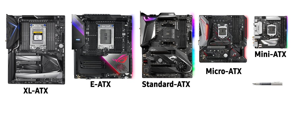 ATX Form Factors Comparison with xl-atx