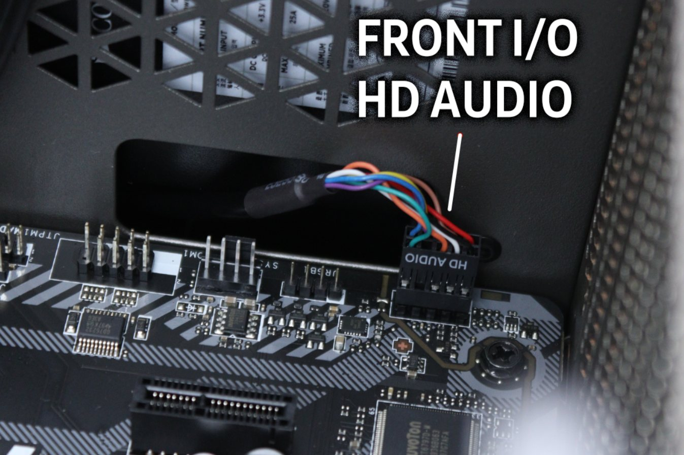 Case Front I/O HD Audio Connector