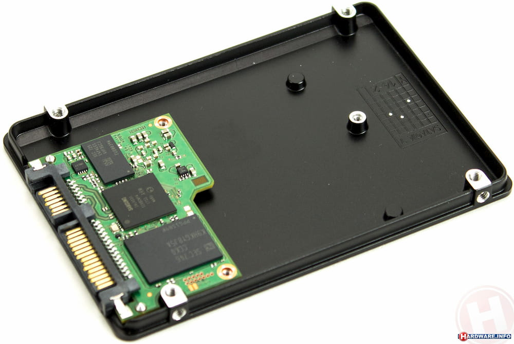 Inside of a SATA SSD