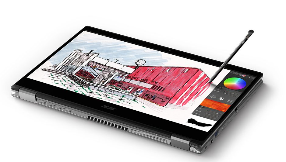 Acer Spin 3 Laptop for Graphic Design 2