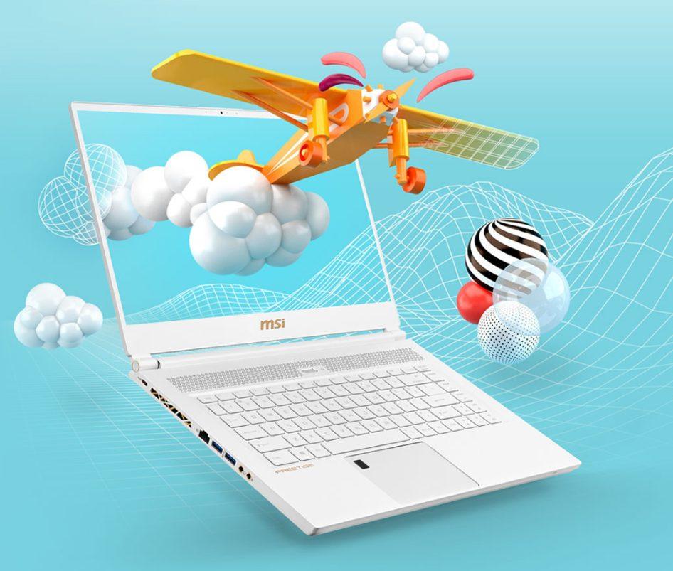 MSI P65 Creator Laptop for Graphic Design