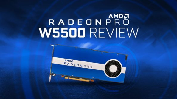 AMD Radeon Pro W5500 Review & Benchmarks – An Excellent Entry to Workstation Graphics