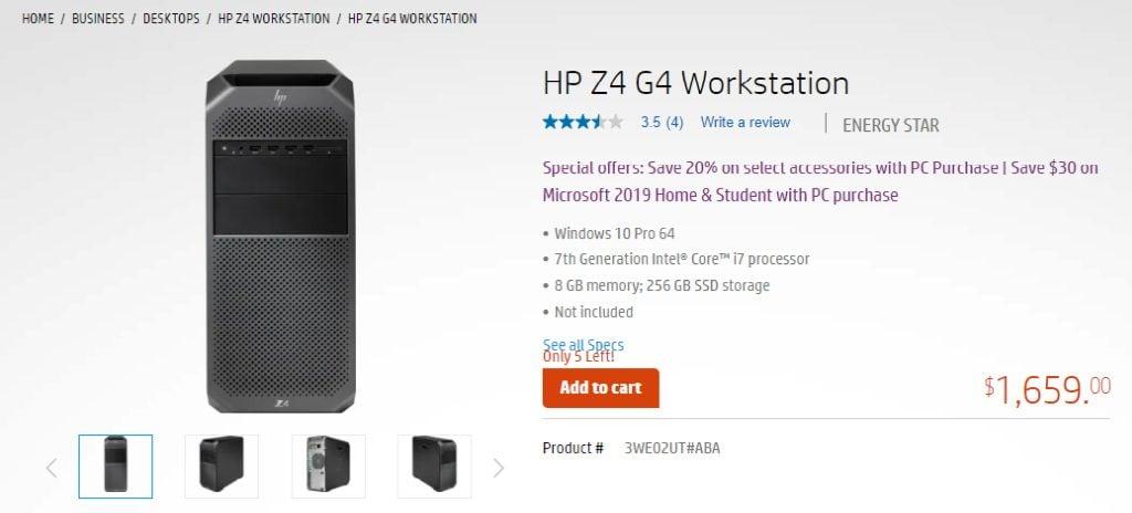 HP Pre-Built PC