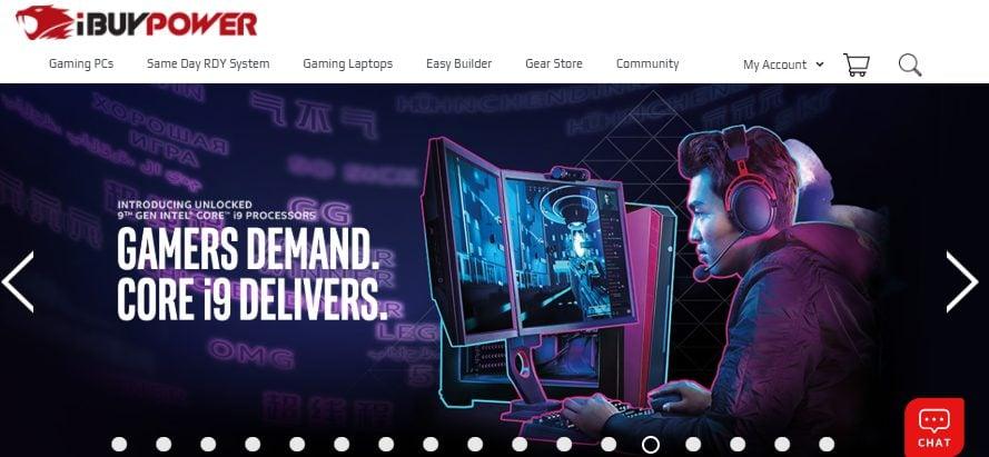 iBuyPower PC Retailer