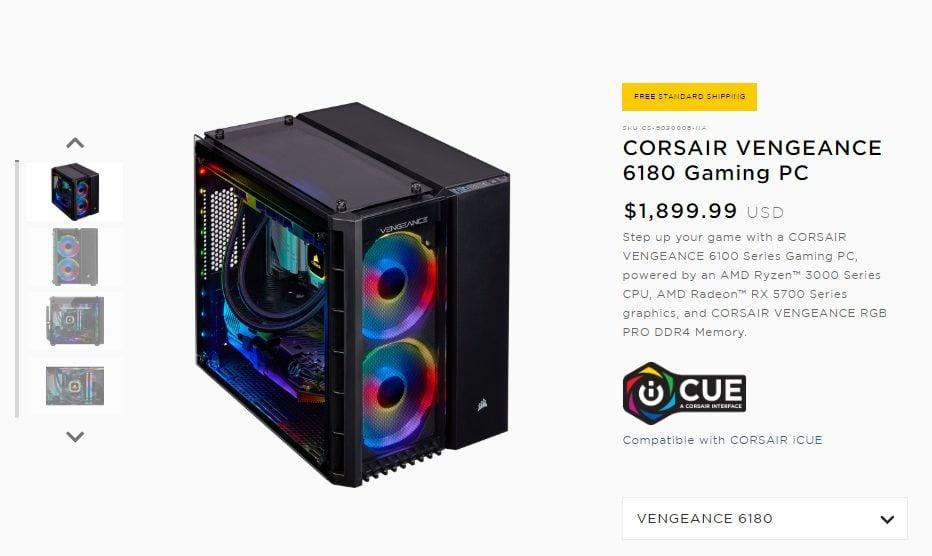 Corsair Pre-Built PC