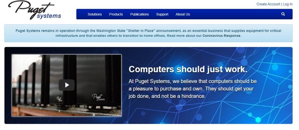 Pugetsystems Pre-Built Custom PCs
