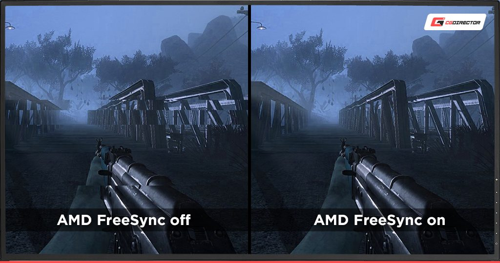 Screen tearing without AMD Freesync