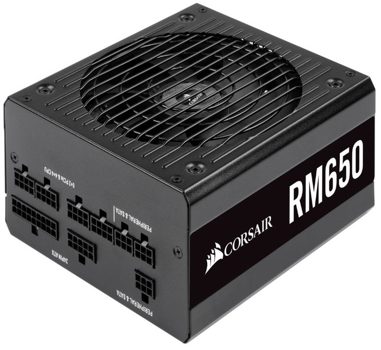CORSAIR RM650 80-Plus Gold (Fully-Modular)