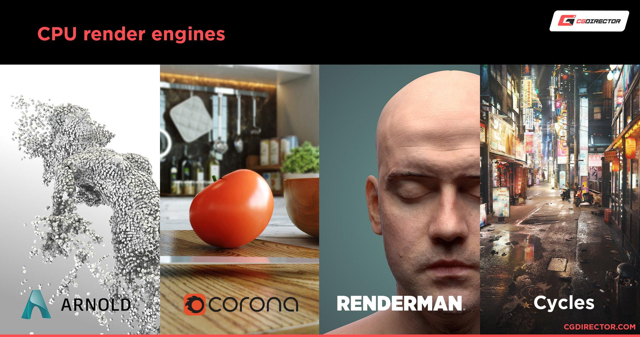 CPU render engines