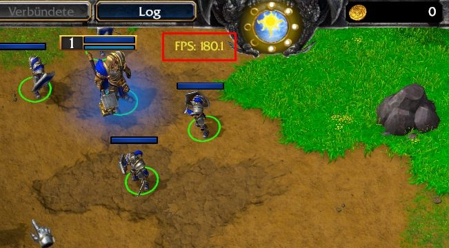 FPS Indicator Warcraft 3 Reforged - Gaming CPU