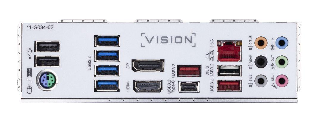Gigabyte Z490 Vision G (ATX) IO