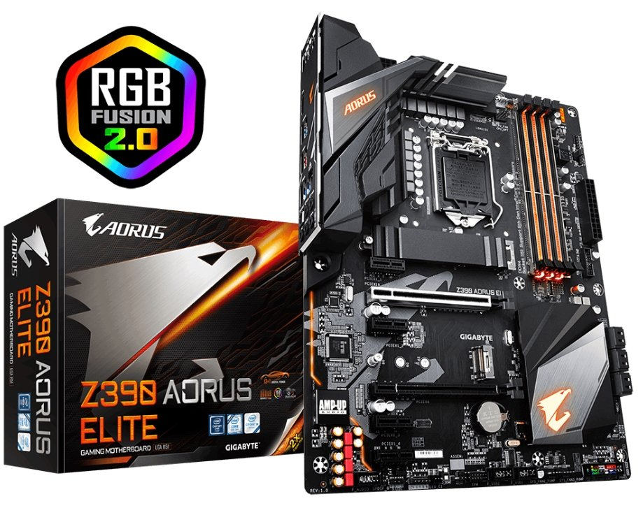 Gigabyte z390 Aorus Elite Hero
