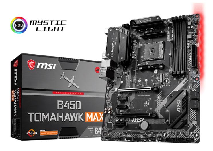 MSI B450 Tomahawk MAX Hero