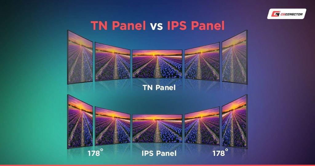 TN vs IPS Monitor Panel