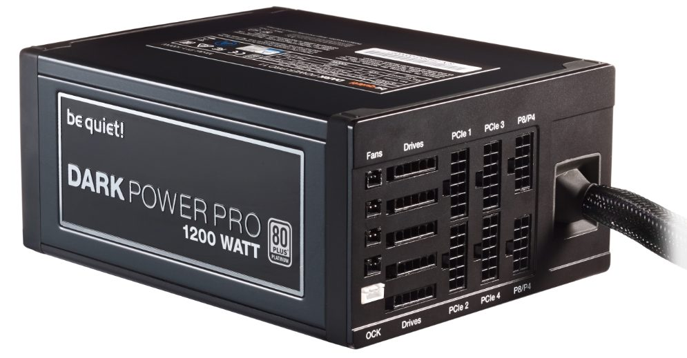 be quiet! DARK POWER PRO 11 1200W 80-Plus Platinum (Semi-Modular)