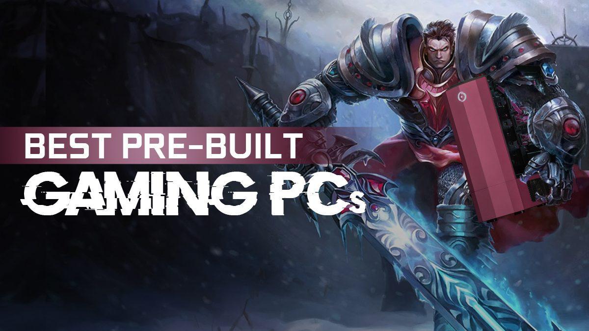 Best Pre-Built Gaming PCs of 2021 – Unpack, Plug-In & Play